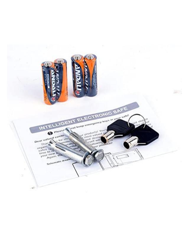 kit de llaves y baterias de cofre mediano