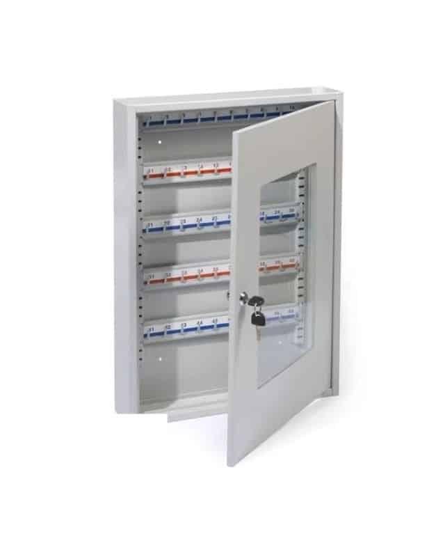 ordenador de llaves gabinete grande con vidrio
