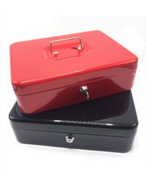 caja menor grande roja y negra encima