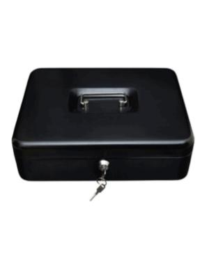 caja menor mediana negra