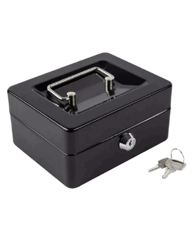 caja menor pequeña negra